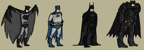 Batman by mjt2