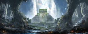 Cave Temple by wwysocki