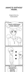 Minho's Birthday Prank by mysimpleme14