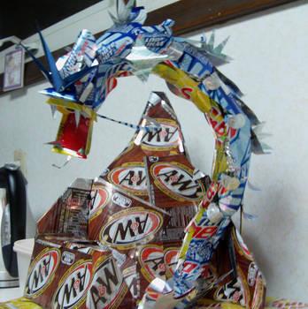Gyarados Can Sculpture WIP by Cryoprime