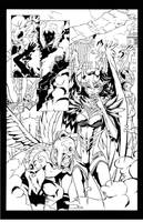 Witchblade '08 pg2 inks by madman1