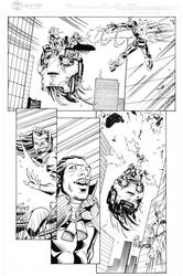 Exiles page 3 inks by madman1