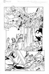 Exiles page 2 inks by madman1