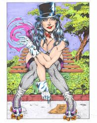 Zatanna colors by madman1