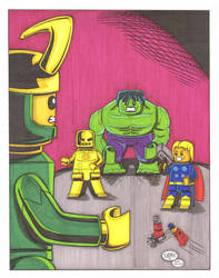 Avengers1 colors by madman1