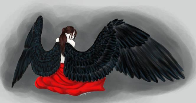 fallen angel by Chalybis