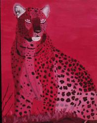 Acrylic Leopard by Tansatheon