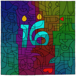 Deviant Art - 16th Birthday by MellodyDoll