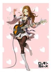 Rocking Girls - Bass girl by GoodOtaku