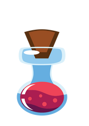 Tutorial Training Bottle With Potion by RichardReis