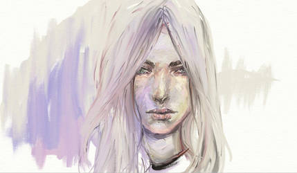 Pale Girl by Gyossaith