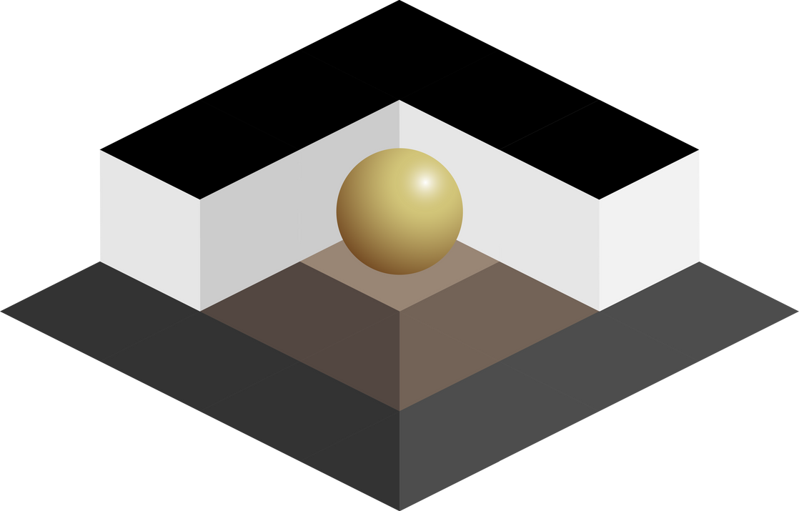 Isometric Ball On Pedestal by Bombardier0