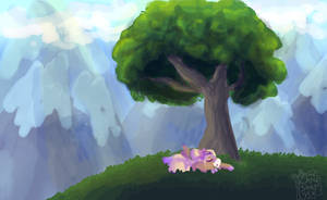 Quick Nap by Ashiirr