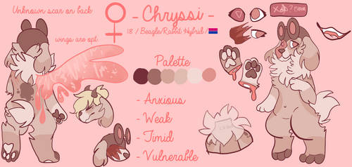 Chryssi Ref (CURRENT as of March 2018) by Ashiirr