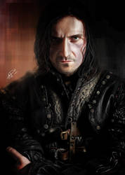 Richard  Armitage as Guy of Gisburne by Wizzard13