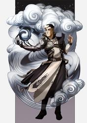 Shiro. Magic AU. by GaalaGaalko