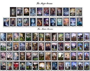 All Card : Mystic Dream Tarot by azurylipfe