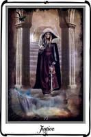 Tarot-Justice by azurylipfe