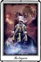 Tarot -The Emperor by azurylipfe
