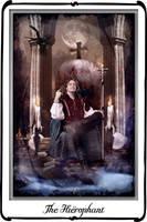 Tarot-The Hierophant by azurylipfe