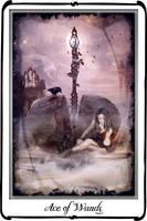 Tarot- Ace of Wands by azurylipfe