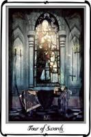 Tarot- Four of swords by azurylipfe