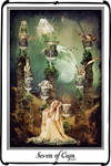 Tarot- Seven of Cups by azurylipfe