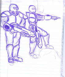 Guard Duty by xXexedusXx