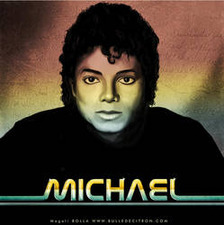 Michael jackson portrait by magaliB