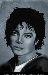 michael jackson portrait 2 by magaliB