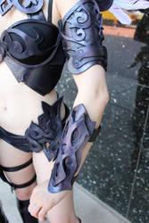 Yamashita Cosplay armor detail by cliodnafae27