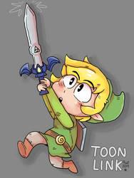 Toon Link by peanutcat62