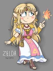 Zelda by peanutcat62