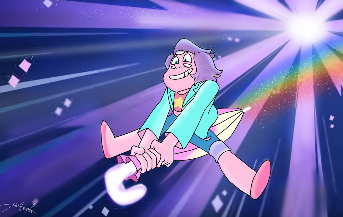 I have decided to draw more steven arts )  Rainbow Quartz 2.0 - Steven universe another art: Rainbow Quartz 2.0