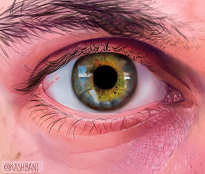 Study of an Eye by kishintilla