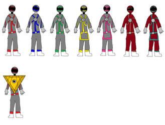 Aku Sentai Yamiranger by syer1001