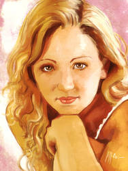 That Girl Again portrait by Brandoch-Daha
