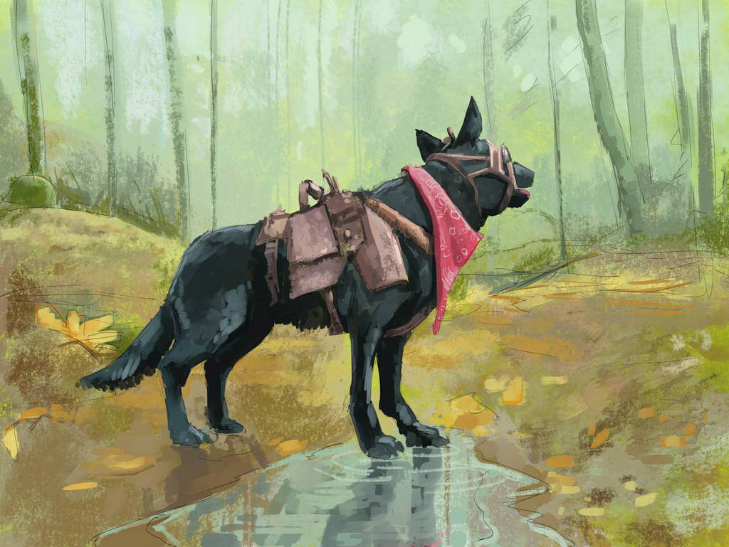 Dogmeat by Brandoch-Daha