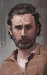 Rick Grimes by Brevis--art