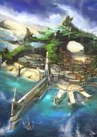 Naldoa Bay by flaviobolla