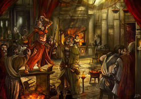 Friendly Tavern by flaviobolla