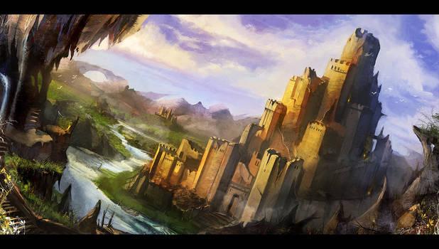 Twilight Fortress by flaviobolla