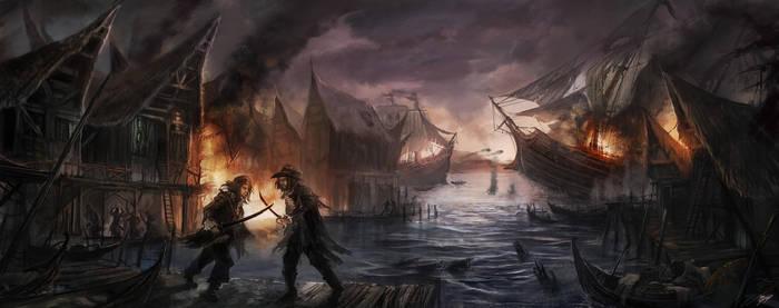Fire of the Vanities by flaviobolla