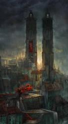 A deserted City by flaviobolla