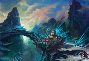 Crystal-Mountains by flaviobolla