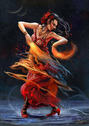 Dancing with the Flames by flaviobolla