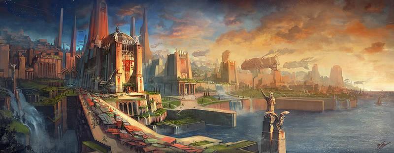 OSMADTH - Bancur City by flaviobolla