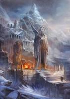 OSMADTH - Nordic Shrine by flaviobolla