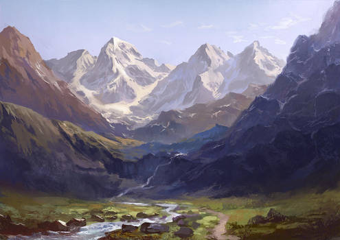 Mountains by flaviobolla