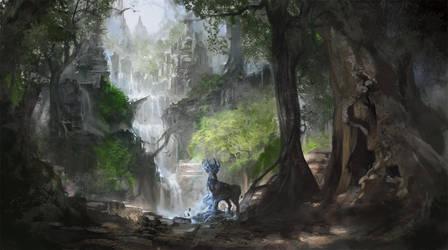 Spirit of Nature II by flaviobolla